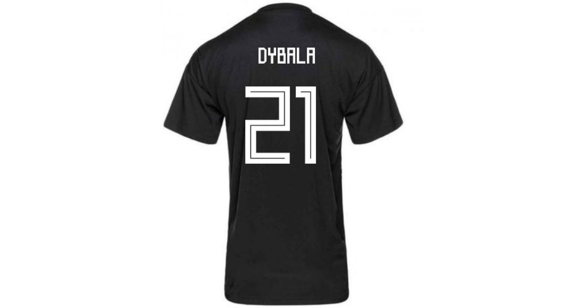 size 40 d0d0e 6c1e9 Adidas - 2018-2019 Argentina Pre-match Shirt (dybala 21) Men's T Shirt In  Blue for Men - Lyst
