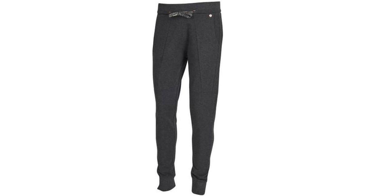 Ellesse Gray Jogging Pantalon Davis Piq Homme Gris anthracite chiné for Men Lyst