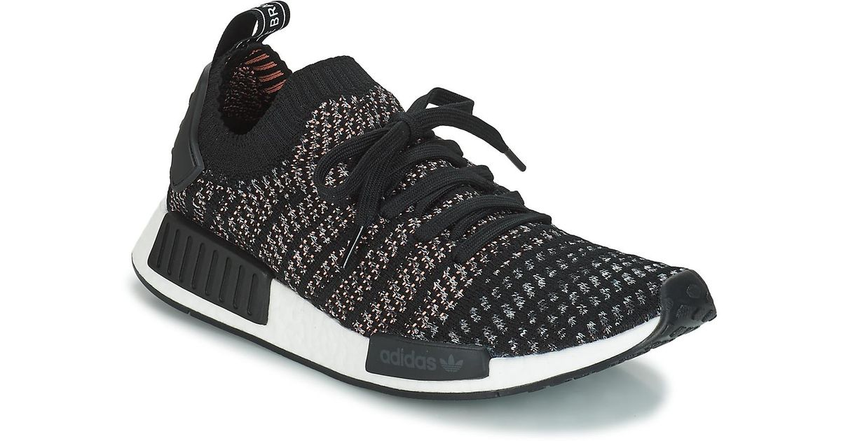 bbb0ea5e1630 Adidas Nmd r1 Stlt Pk Men s Shoes (trainers) In Multicolour in Black for  Men - Lyst