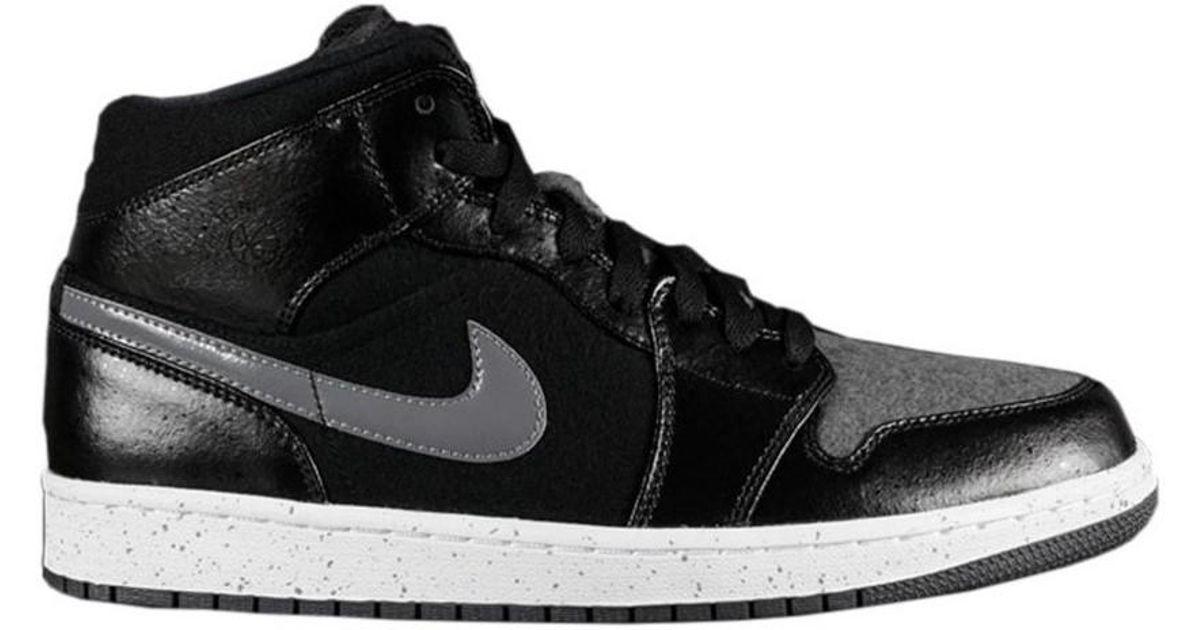 3c0be72b3f85 Nike Air Jordan 1 Mid Premium Men s Shoes (high-top Trainers) In Grey in  Gray for Men - Lyst
