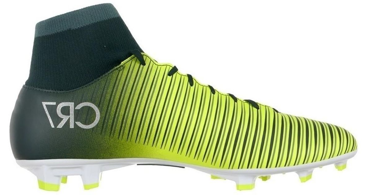 78656172154 Nike Mercurial Victory Vi Cr7 Df Fg Men s Football Boots In Yellow in Yellow  for Men - Lyst