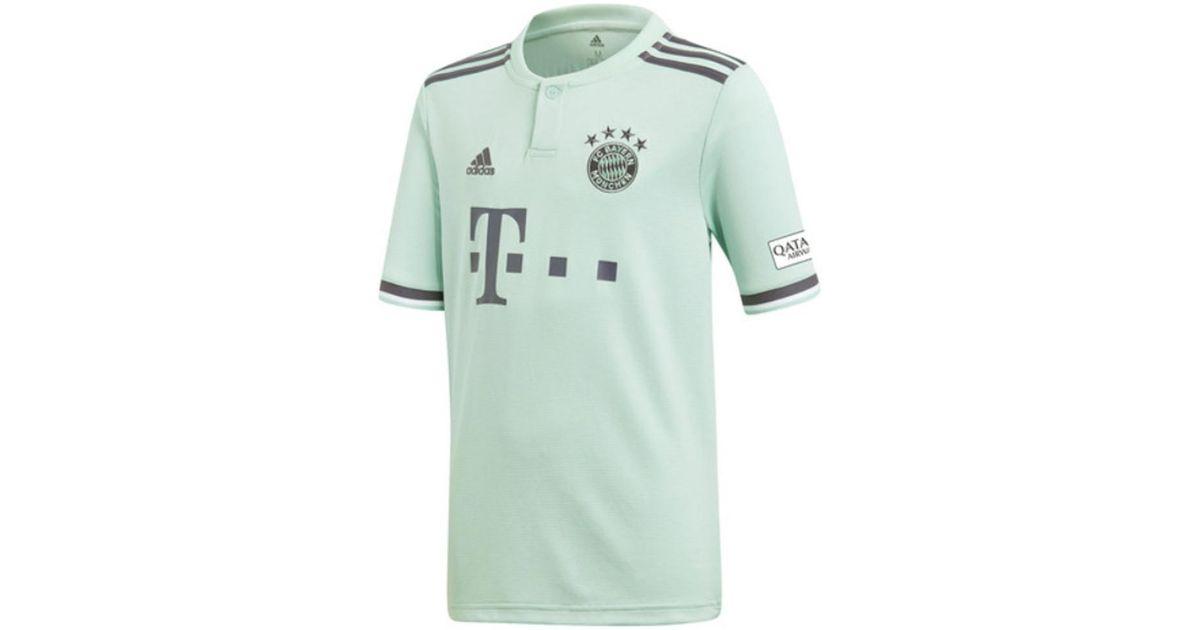 Adidas 2018-19 Bayern Munich Away Shirt (lewandowski 9) - Kids Women s T  Shirt In Blue in Blue - Lyst 71bde7e85