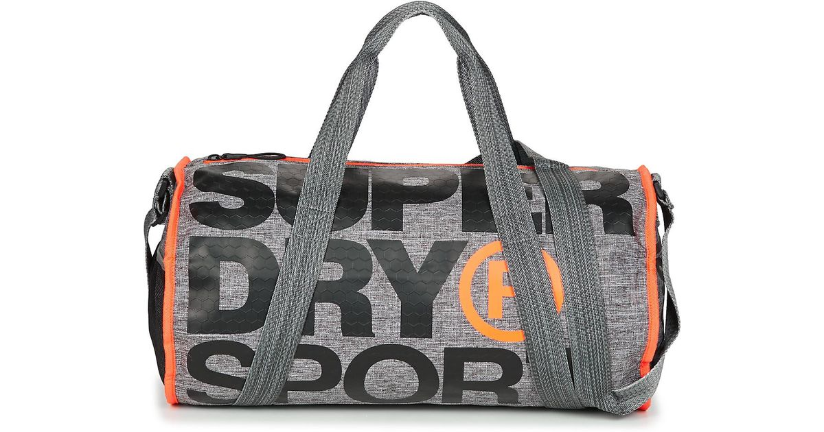512c0ab593 Superdry Xl Sports Barrel Men s Sports Bag In Grey in Gray for Men - Lyst