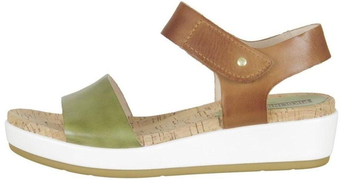 c2a2b9f8b5fa Pikolinos Mykonos Women s Sandals In Green in Green - Lyst