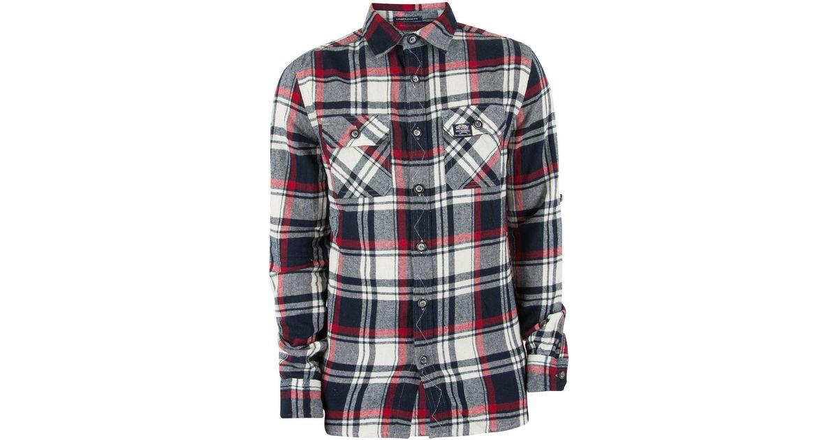 Superdry Men S Lumberjack Shirt Multicoloured Men S Long Sleeved