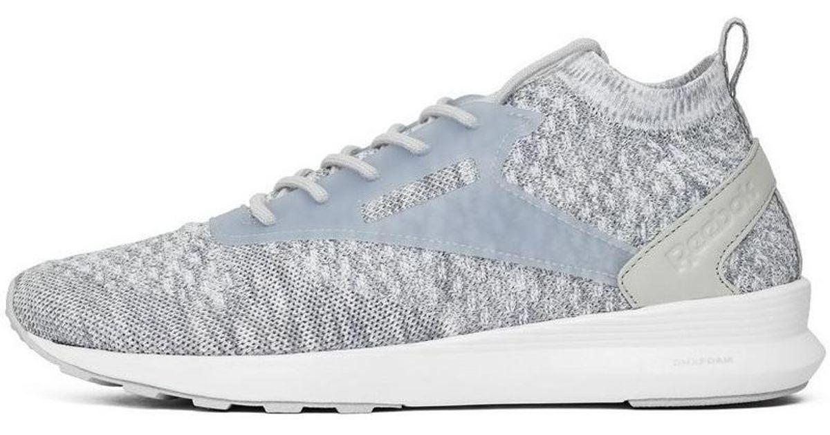 43756410642bb2 Reebok Zoku Runner Ultraknit Htrd Men s Shoes (trainers) In Grey in Gray -  Lyst