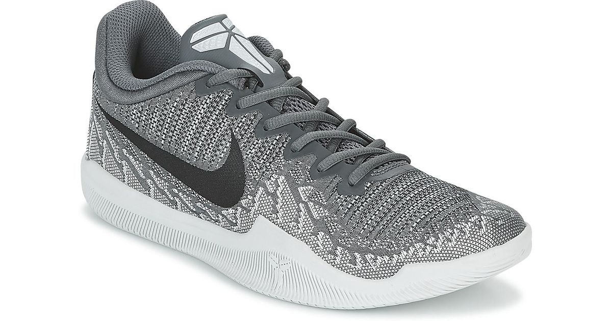 sale retailer 6a7b2 5ca76 Nike Mamba Rage Men s Basketball Trainers (shoes) In Grey in Gray for Men -  Lyst