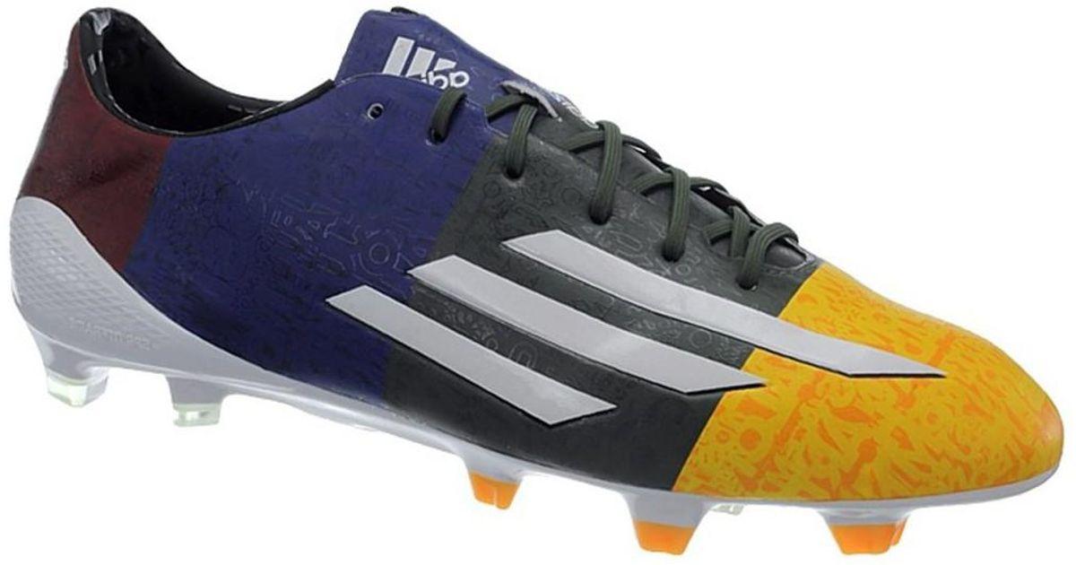 e62408649951 adidas F50 Adizero Fg Messi Men's Football Boots In White in White for Men  - Lyst