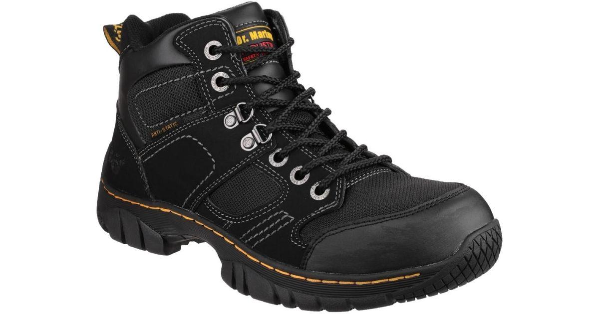 Dr. Martens Benham Unisex Safety Boots Women s Walking Boots In Black in  Black - Lyst ecdafaa166