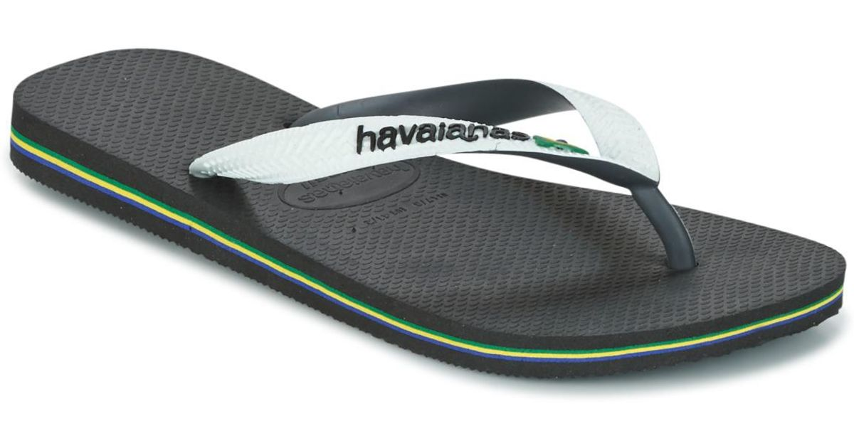 1d282c8acde70 Havaianas Brasil Mix Flip Flops   Sandals (shoes) in White - Save 5.0% -  Lyst