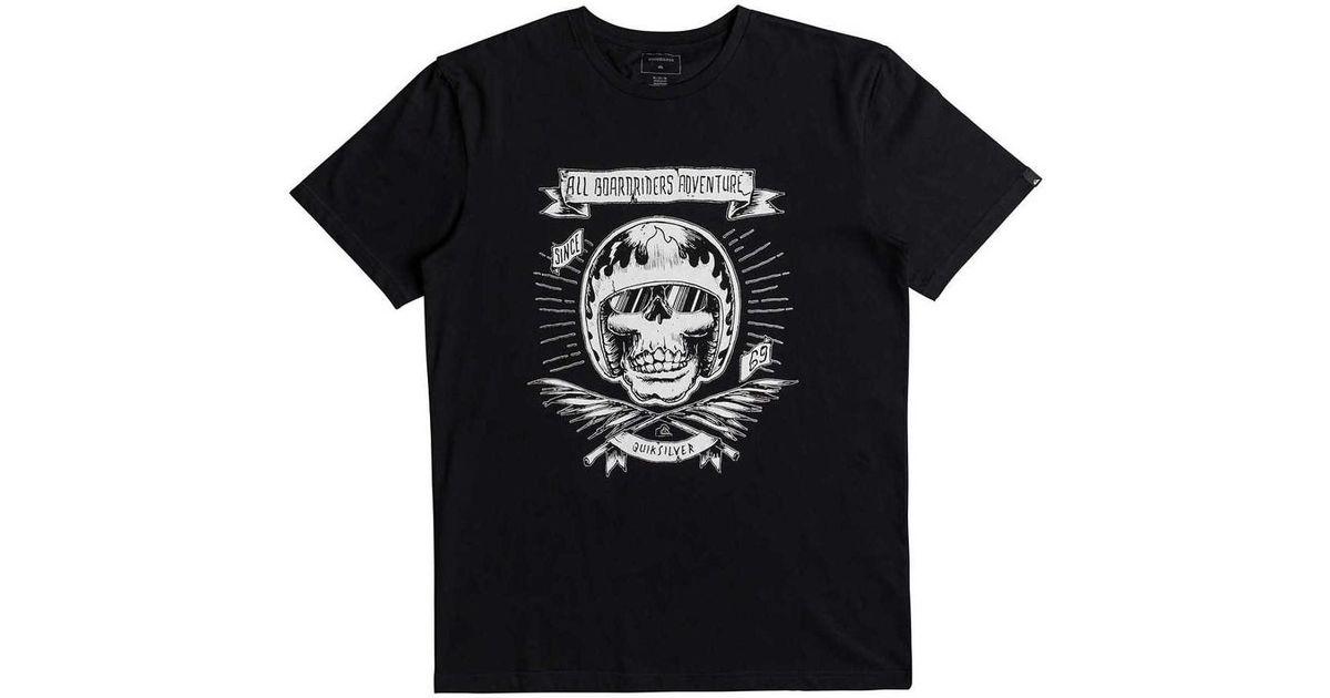 Quiksilver Camiseta Eqyzt04832-kvj0 Negro Hombre Men s T Shirt In Black in  Black for Men - Lyst afebca5148