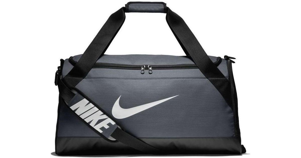 eabe801cb8 Nike Ba5334 Brasilia (medium) Training Duffel Bag Men s Sports Bag In Grey  in Gray for Men - Lyst