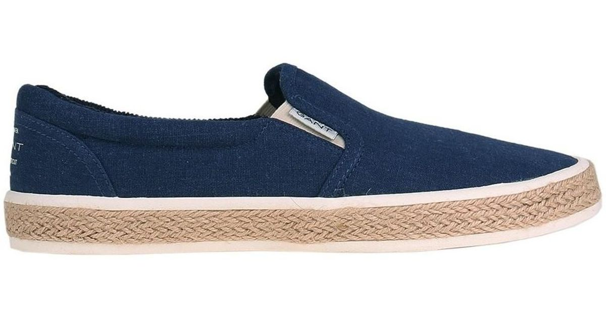 27b2bd0729 Gant Master Men's Espadrilles / Casual Shoes In Multicolour in Blue for Men  - Lyst