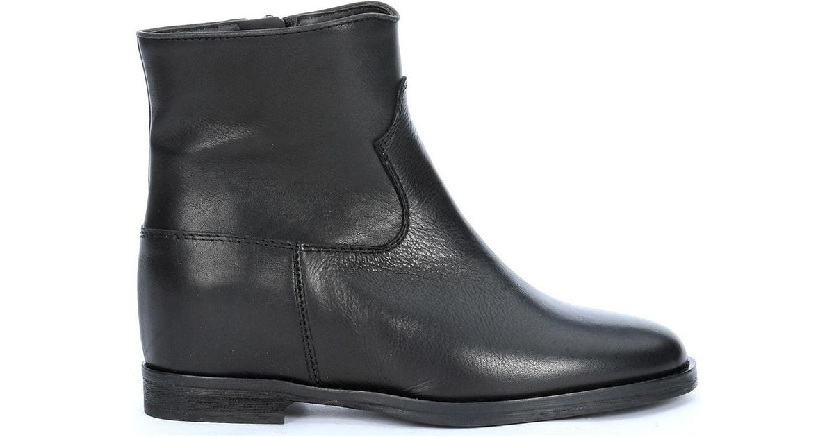 32c1a23648df via-roma-15-black-Ankle-Boots-In-Black-Cowhide-Womens-Low-Boots -In-Black.jpeg