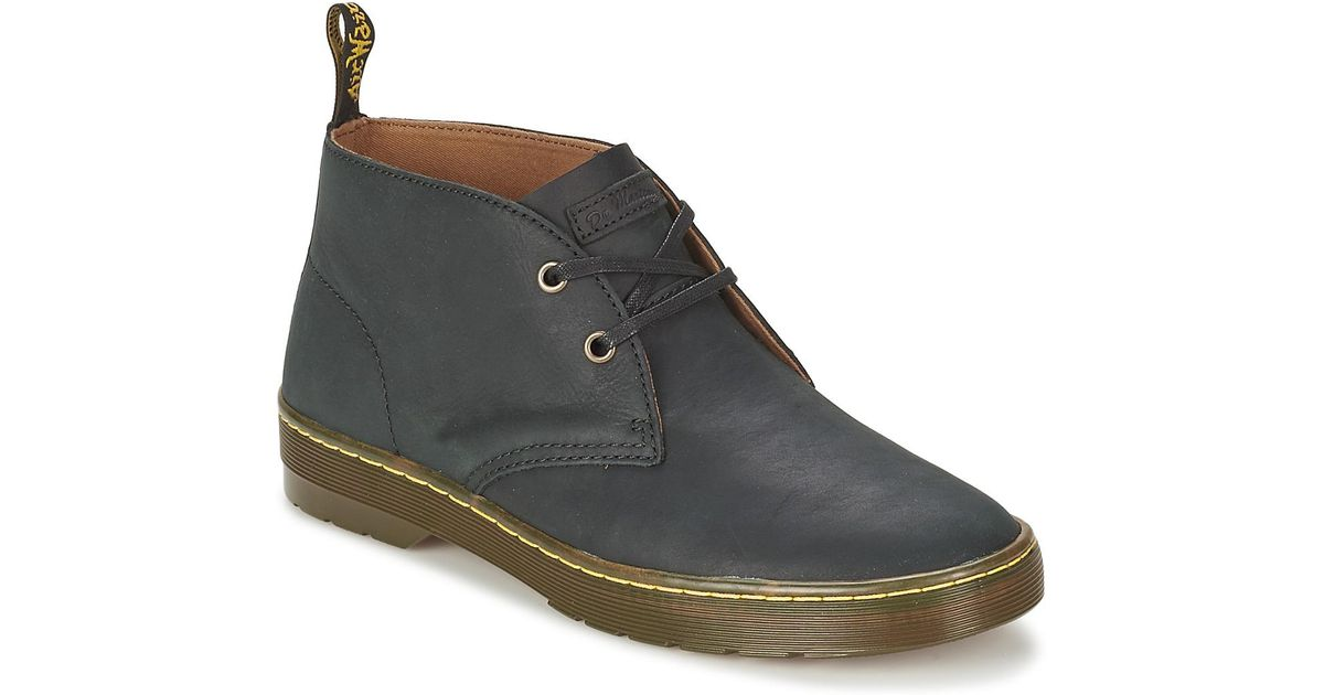 2362ef2b2b5 Dr. Martens Cabrillo Men s Mid Boots In Black in Black for Men - Lyst