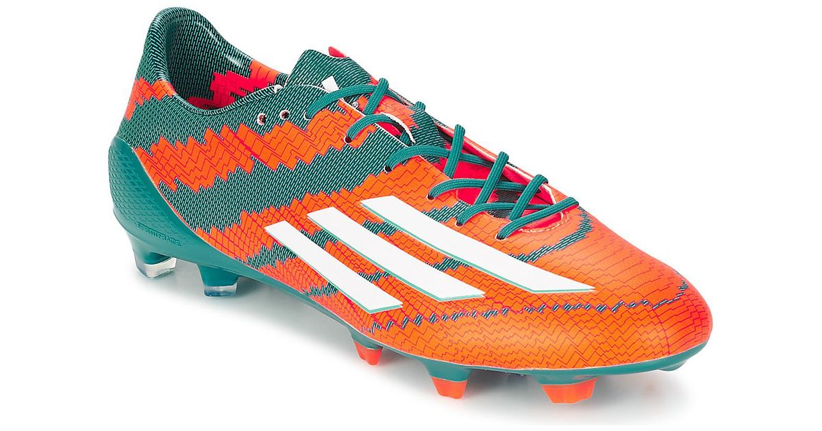 official photos 531d6 2d164 adidas Messi 10.1 Fg Football Boots in Orange for Men - Save 71% - Lyst