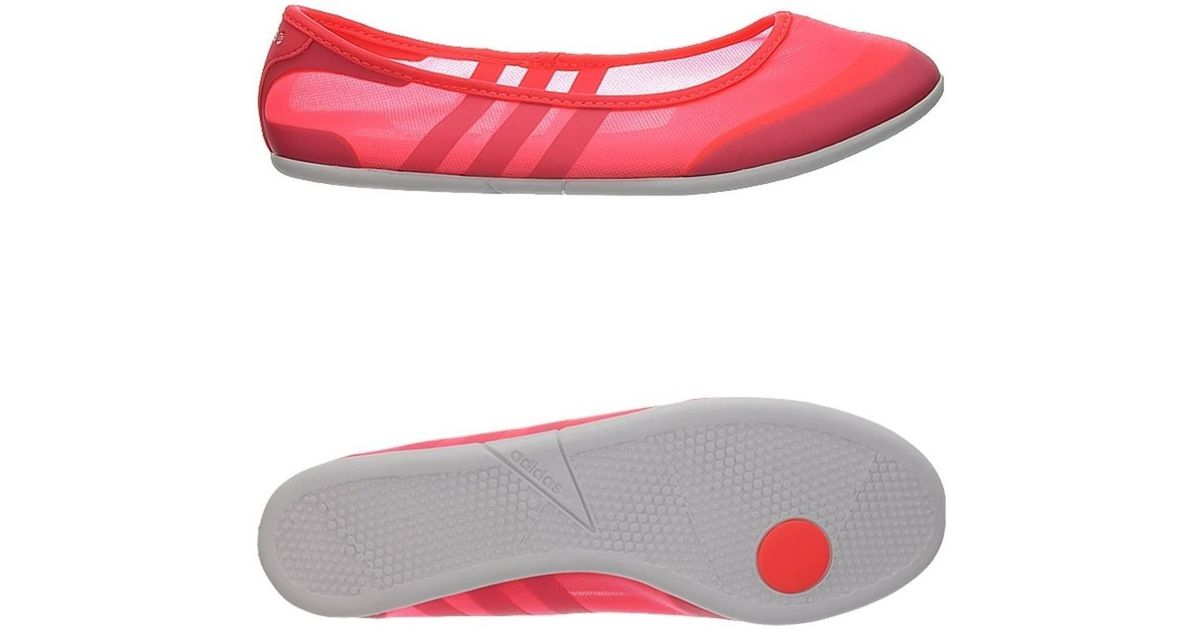 d2660e4a6c8 adidas Sunlina W Women s Shoes (pumps   Ballerinas) In Pink in Pink - Lyst