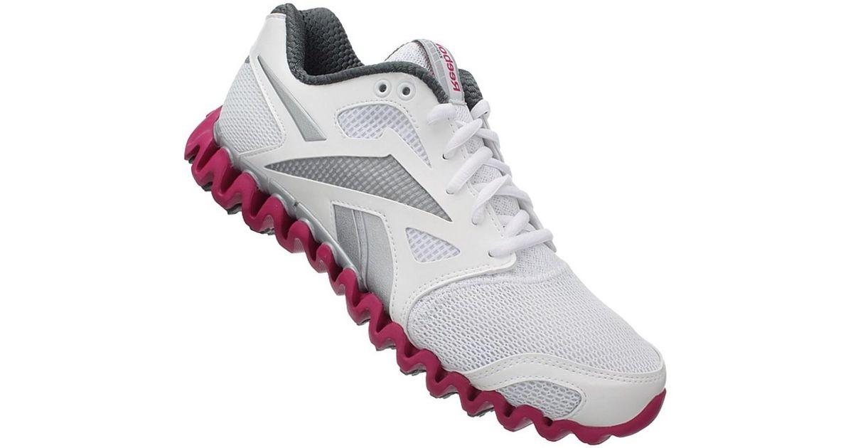 Reebok Zignano Fly 2 W Women s Running Trainers In Grey in Gray - Lyst 4b77c2a39