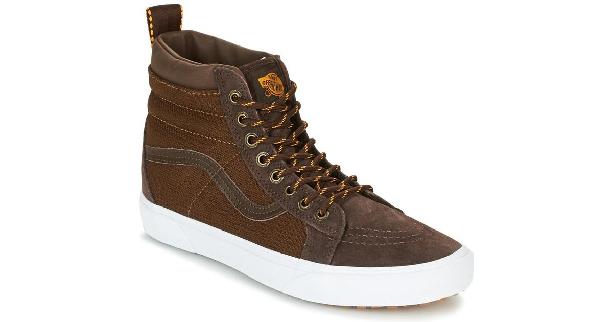 9fcfd3d6c9fd43 Vans Sk8-hi Mte Men s Shoes (high-top Trainers) In Brown in Brown for Men -  Lyst