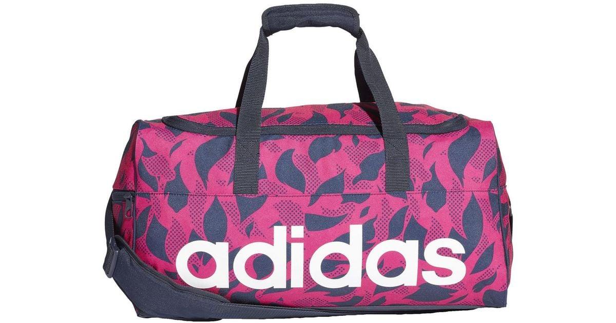 Sport Lyst Travel Femmes Gqui0wwenx Linear En Pour Rose Sac De Adidas qwRrRtX