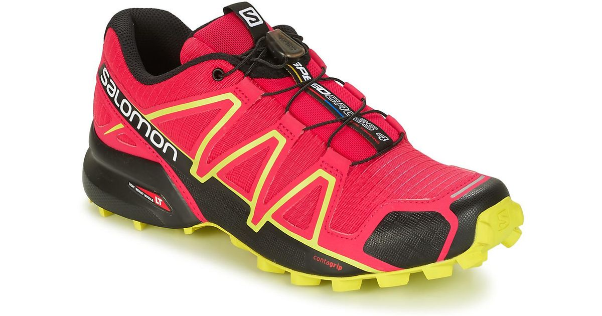 7424ba91941d Yves Salomon Speedcross 4 W Women s Running Trainers In Pink in Pink - Save  1% - Lyst