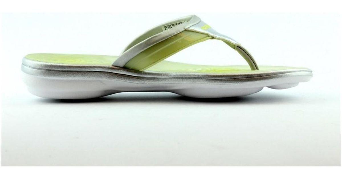 Reebok Easytone Plus Flip Women s Flip Flops   Sandals (shoes) In White in  White - Lyst daf1a273f