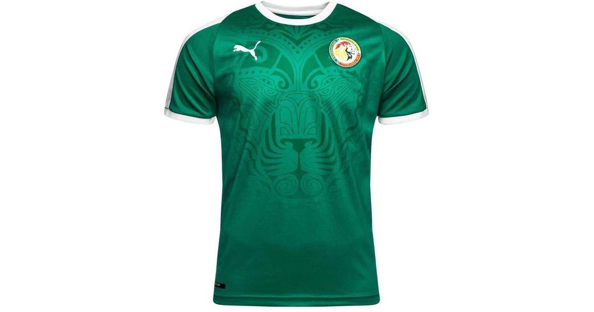 a5eae0a541e PUMA 2018-2019 Senegal Away Football Shirt Women's T Shirt In Green in  Green - Lyst
