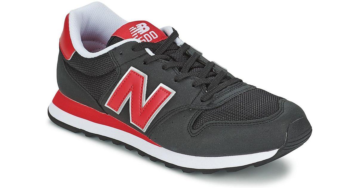 new balance gm 500 black