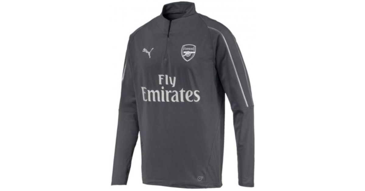 Women's Half Puma Arsenal Zip Gate 2019 Training Top iron 2018 gBnvqxgWwz