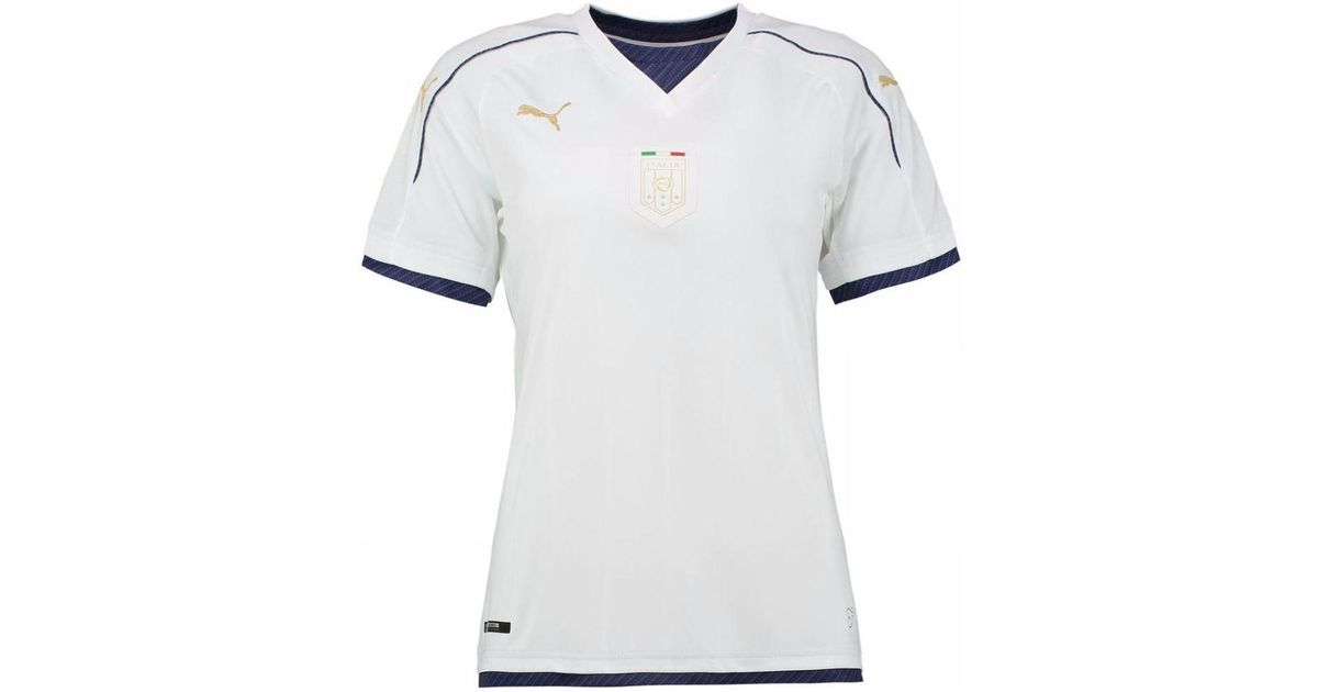 090590a86 Puma Italy 2006 Tribute Away Ladies Shirt Men s T Shirt In White in White  for Men - Lyst