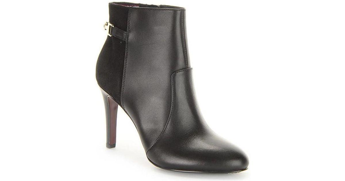 b871e805 Tommy Hilfiger Layla 22c Women's Low Ankle Boots In Black in Black - Lyst