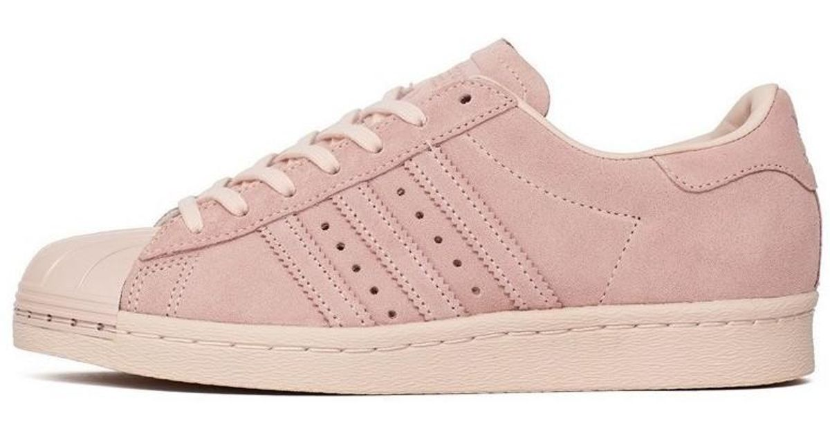 meet 1e0bb 9a743 Adidas - Superstar 80s Metal Toe Women's Shoes (trainers) In Pink - Lyst