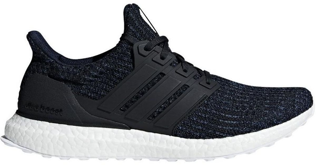 official photos eb0bf d9818 Adidas - Ultraboost Parley Men's Shoes (trainers) In Black for Men - Lyst