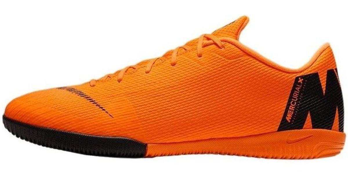 watch f0229 4d3e8 Lyst - Mercurial Vaporx 12 Academy IC Fust BY Nature hommes Chaussures de  foot en orange Nike pour homme en coloris Orange