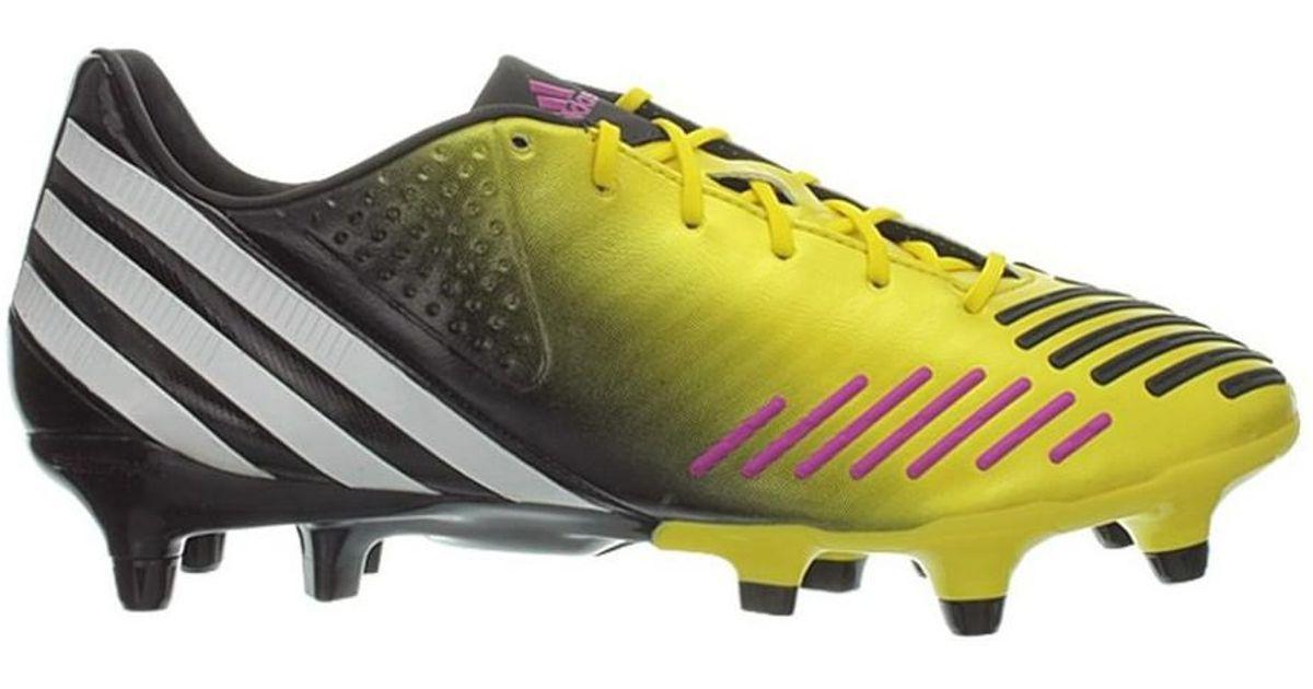 adidas Predator Lz Xtrx Sg Men s Football Boots In Yellow in Yellow for Men  - Lyst 2c33df373f