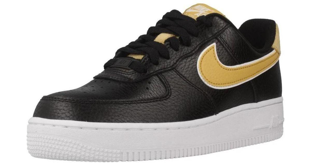 pretty nice d74de 89c94 Nike Air Force 1 039 07 Se Women s Shoes (trainers) In Black in Black - Lyst