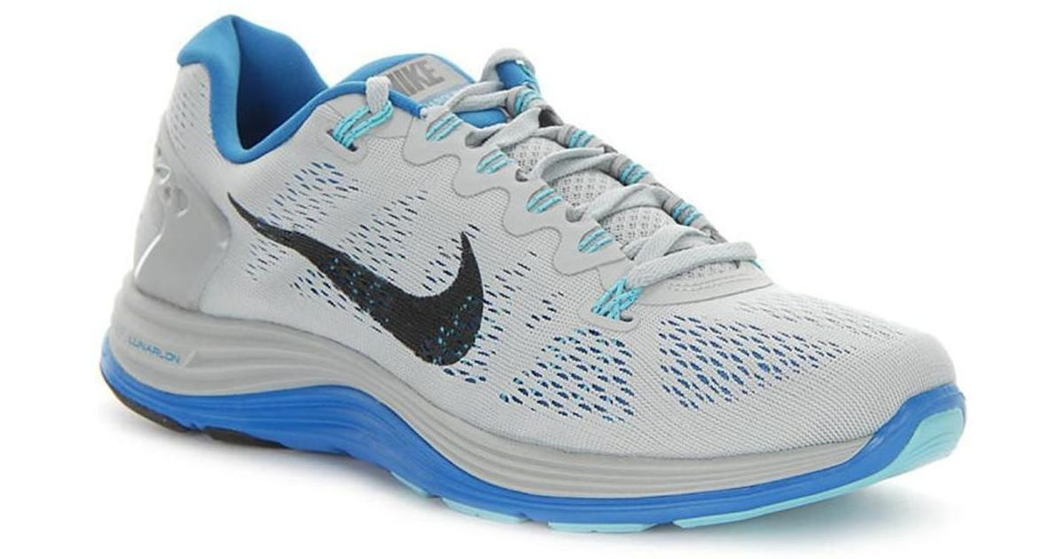c16d3f679378 Nike Lunarglide 5 Men s Running Trainers In Grey in Gray for Men - Lyst