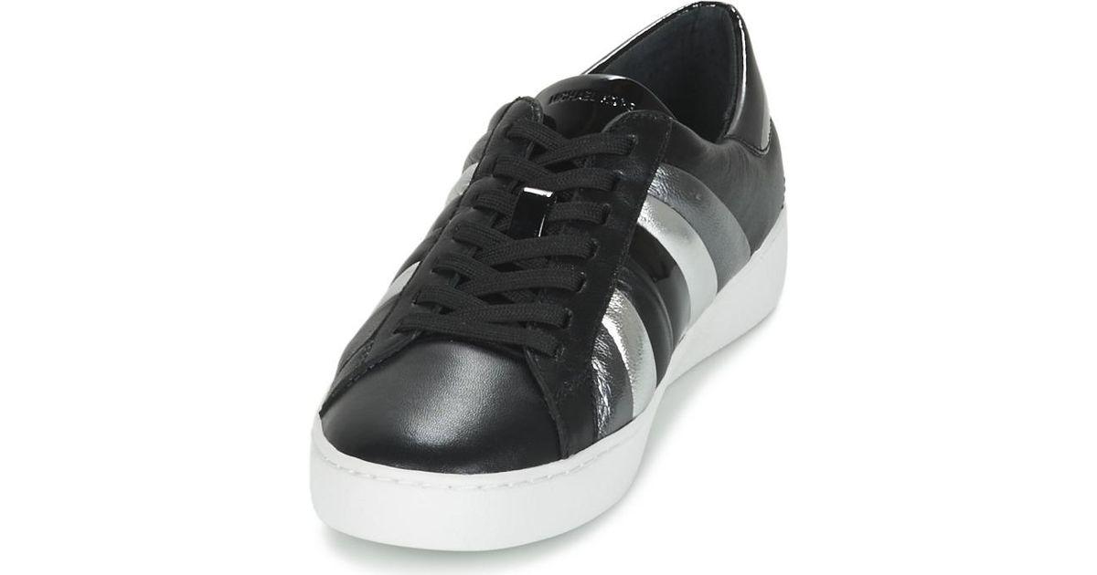 f2b3e73173c0 Michael Michael Kors Conrad Sneaker Women s Shoes (trainers) In Black in  Black - Lyst