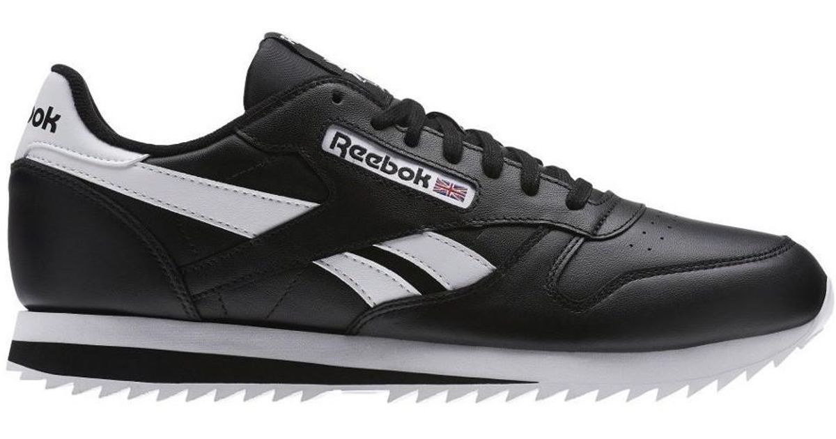 ab666833fe3 Reebok Classic Leather Ripple Low Bp Men s Shoes (trainers) In White in  White for Men - Lyst