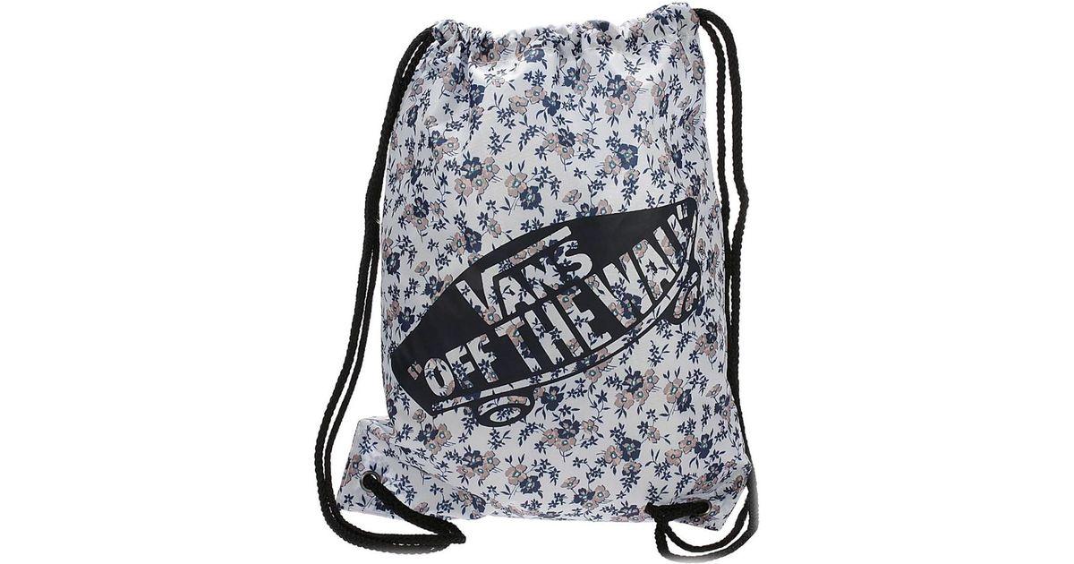 4d137207d1 Vans Benched Novelty Bag - Surf Geo Women s Backpack In Black in Black -  Lyst