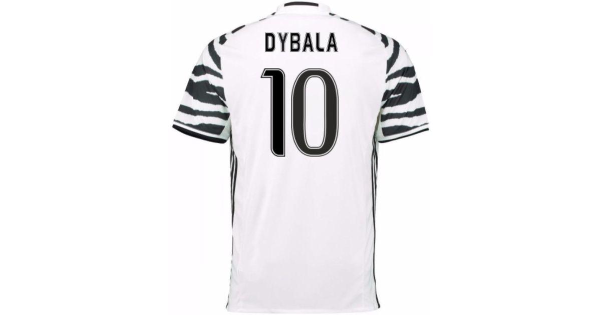 cdb180265 adidas 2016-17 Juventus 3rd Shirt (dybala 10) Men s T Shirt In White in  White for Men - Lyst