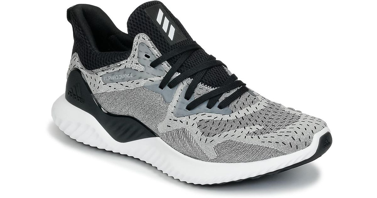 c8c81948637c adidas Alphabounce Beyond Running Trainers in Gray for Men - Lyst