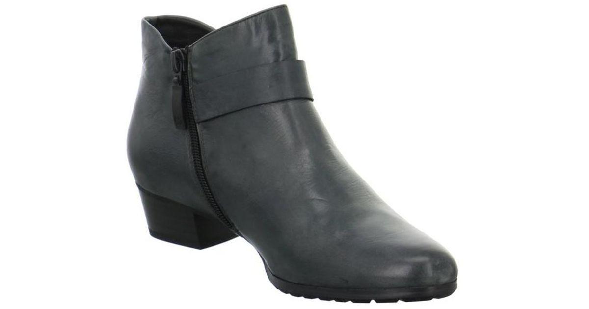 promo code 8b065 b7401 White Bottines Gerry Weber Casey 01 Anthrazitmoro Muma cour Chaussure pour  femme Chaussures 2018 d été NEUF Noir ...