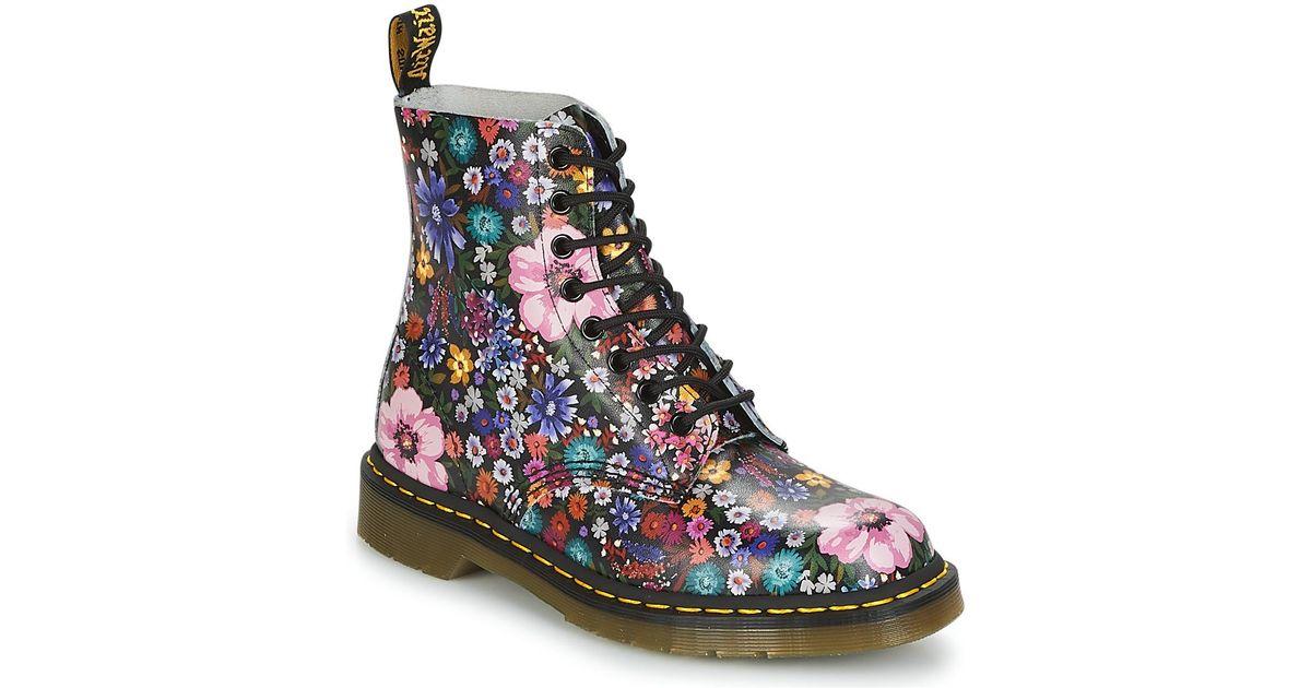 PASCAL WL femmes Boots en Multicolor Dr. Martens en coloris Blue