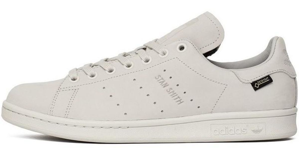6a1c263052199 adidas Stan Smith Goretex Men s Mid Boots In White in White for Men - Lyst