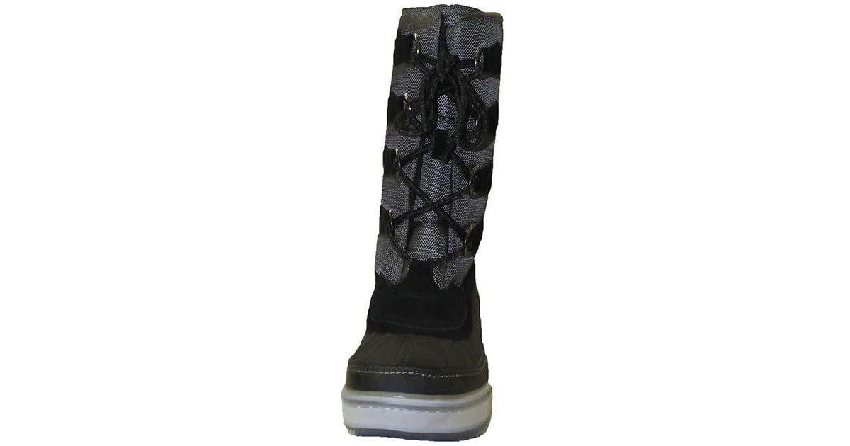 17c33567d2c Le Coq Sportif Moonboot Minka Women's Snow Boots In Black in Black - Lyst