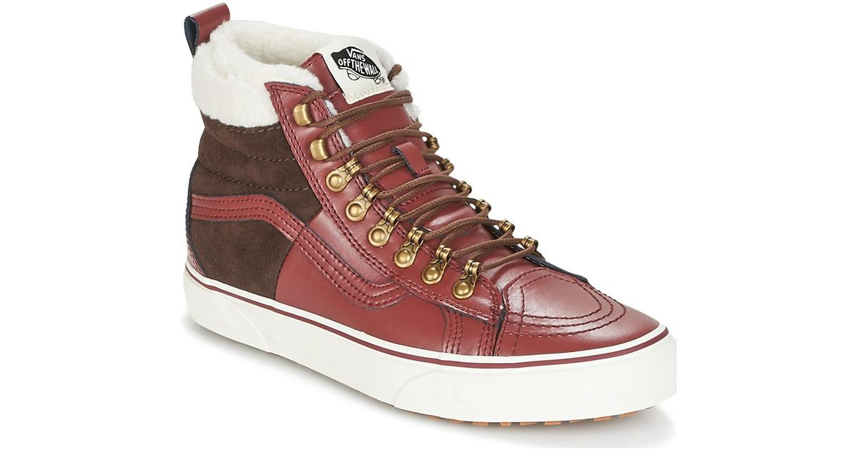 Vans Sk8-hi 46 Mte Dx Women s Shoes (high-top Trainers) In Red in Red - Lyst 81ae055a9a