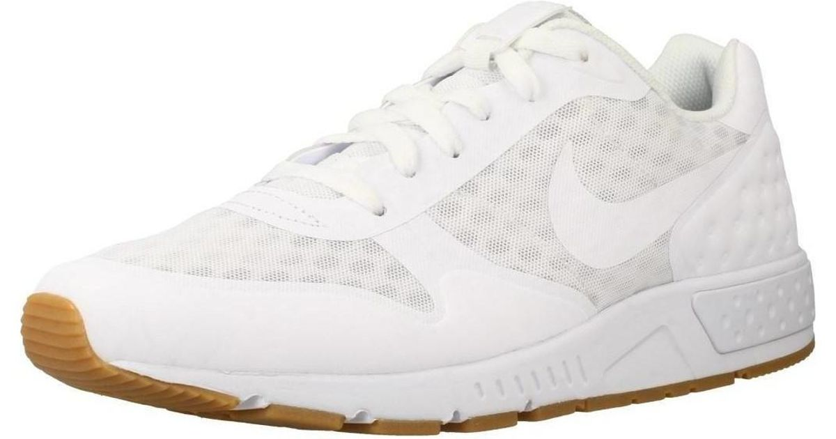 wholesale dealer 4d8c4 db672 Nike Nightgazer Lw Se Men s Shoes (trainers) In White in White for Men -  Lyst