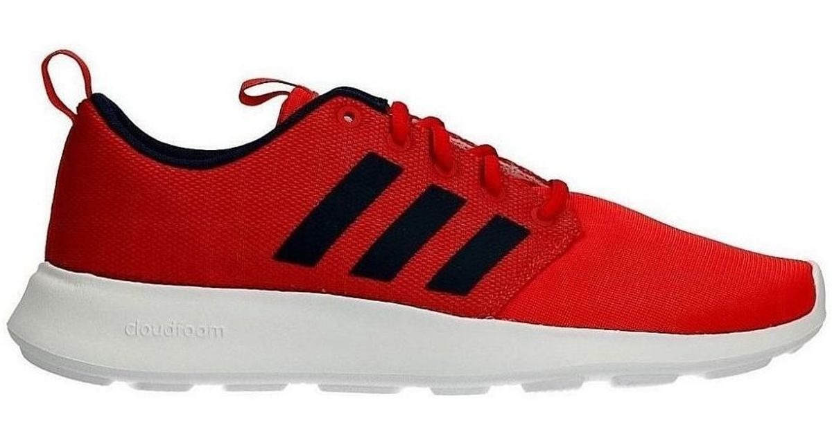 8d1dbc410ec6d adidas Neo Cloudfoam Cf Swift Racer Men s Shoes (trainers) In Red in Red  for Men - Lyst