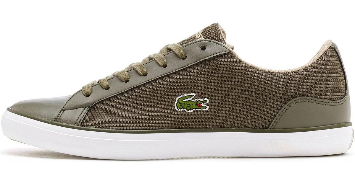 b58229dd0 Lacoste Lerond 117 3 Trainers In Olive Green 733cam1034 1x5 Men s Shoes  (trainers) In Green in Green for Men - Lyst